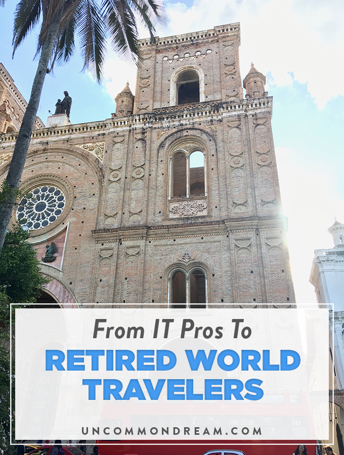 from it pros to retired world travelers